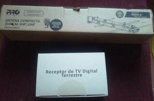 Conversor e Antena Digital - Aceito Ofertas
