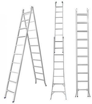 Escadas de aluminio extensivas