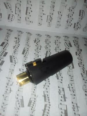 Boquilha Everton série sax soprano 7