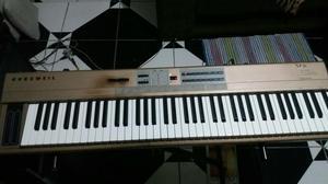 Kurzweil SP76 Piano Digital + amplificador LL + Estante em