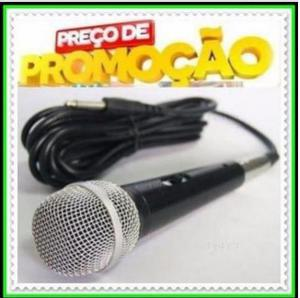 Microfone Profissional com Cabo Weisre M58. NOVO - Whatsapp:
