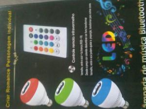 Chuteira e lâmpada LED de música bluetooth (Bola de festa)