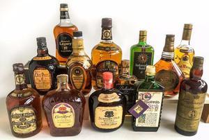 Coleção de Whiskys anos 80