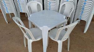 Jogos de Mesas Com 4 Cadeiras Bistrô Pra 154 Quilos - São
