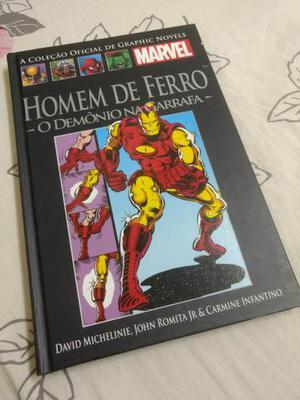 Vendo HQs da coleção Graphic novel de 60 edições.