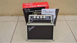 Amplificador Fender Mini Tone Master NOVO para Coleção ou