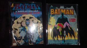 Lote de gibis Batman - Formatinho Ed.Abril