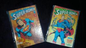 Lote de gibis Super-Homem - Formatinho Ed Abril