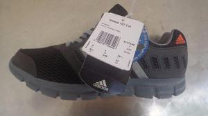 Tênis Adidas Breeze M azul preto 100% original