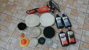 Kit polimento e higienização