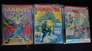 Lote de Gibis Superaventuras Marvel - Formatinho Ed. Abril