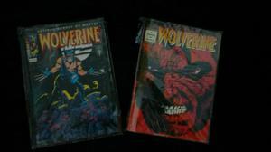 Novo lote de gibis Wolverine - Formatinho Ed Abril