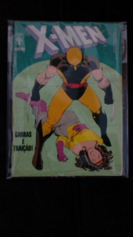 Novo lote de gibis X-Men - Formatinho Ed.Abril