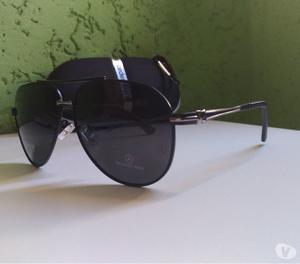 Óculos Mercedes-benz Aviador - Polarizado E Original
