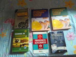 Kit livros segurança do trabalho