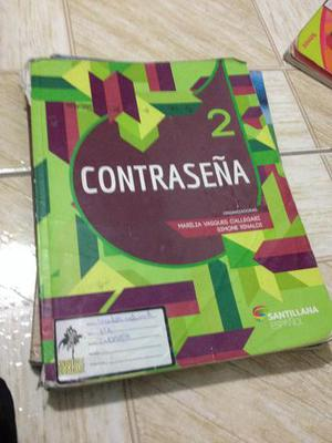 Livro de espanhol contraseña 7º ano