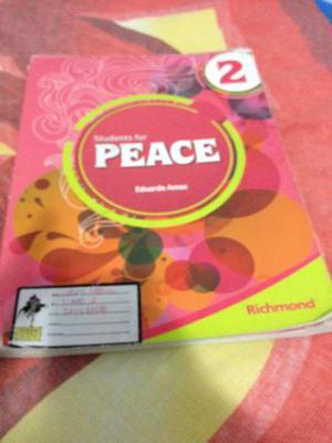 Livro de inglês peace 7º ano