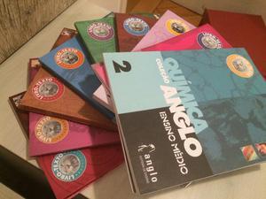 Livros do Anglo - 2º ano do Ensino Médio
