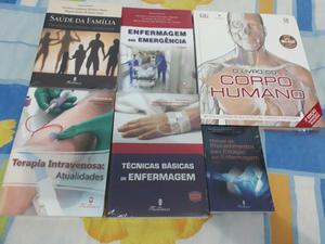 Venda! 6 Livros de enfermagem $