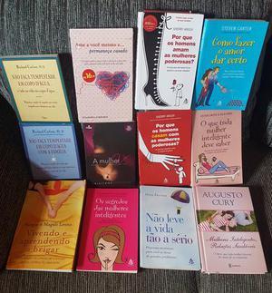 Vendo lote com 12 livros