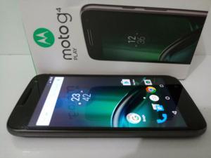 "Celular smartphone motorola moto g4 play 16gb 2 chip tela 5"""