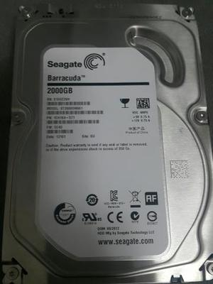 HD 2TB Barracuda Seagate