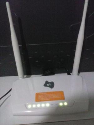 Moldem roteador zyxel oi velox 2 antenas novo