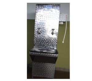 Bebedouro De Água Industrial Em Aço Inox