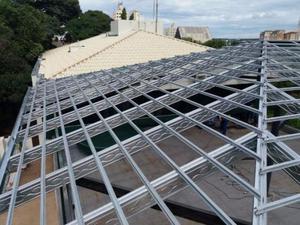 Estruturas e Telhados Aço Galvanizado