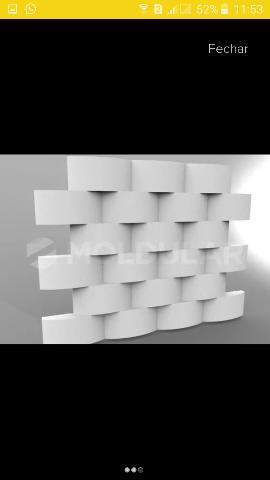 Forma gesso 3d