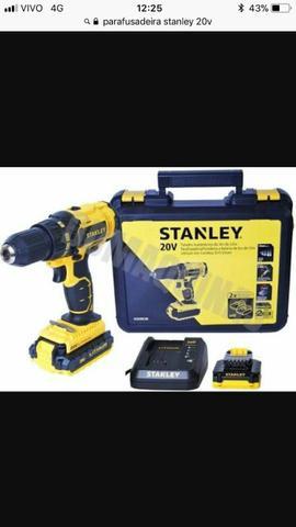 Stanley 20v 1/2 Parafusadeira/Furadeira nova barato R