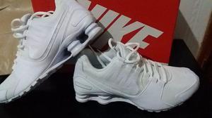 Tênis Nike Shox branco Masculino original n 41