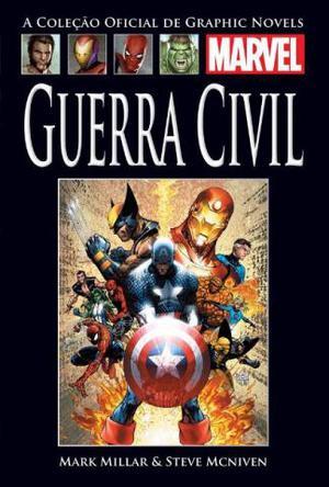 HQ Guerra Civil Coleção Oficial De Graphic Novels Nº 19