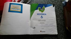 Livro de história Arariba Plus