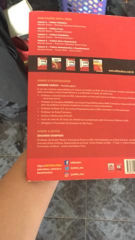 Livro de prática penal para a OAB