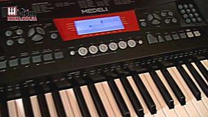 Teclado Medeli M Teclas Touch Response Display Lcd