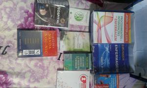 Vendo esses livros completo de enfermagem. valor