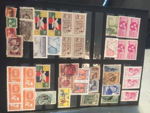 Álbum de coleção de selos