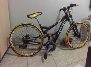 Bicicleta Totem rebaixada