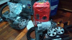 Lavadora de alta pressão + Aspirador - novos na caixa