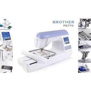 Maquina de bordar - Brother PE 770 (Semi nova)