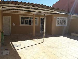 QNO 05 casa 03 quartos mais casa de fundos recém reformada
