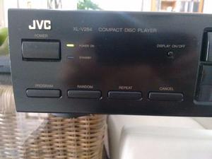 Cd Player Jvc Com Controle Remoto -Mod. Xl V284 Excelente