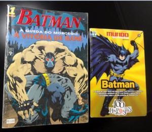 Coleção Batman - A Queda do Morcego - Completa