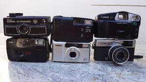 Lote de Maquinas Fotograficas Antigas P/ Colecionadores