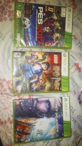 3 Jogos Originais Xbox 360