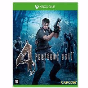 Resident Evil 4 Remastered Xbox One Mídia Física Lacrado