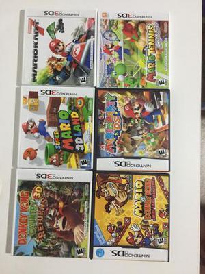 Venda de jogos de nintendo 3DS e ds