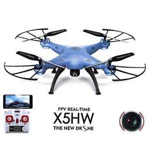 Drone syma x5hw modelo novo com altitude hold camera fpv hd