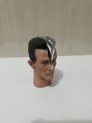 Hot Toys Cabeça do T- Exterminador do Futuro 2